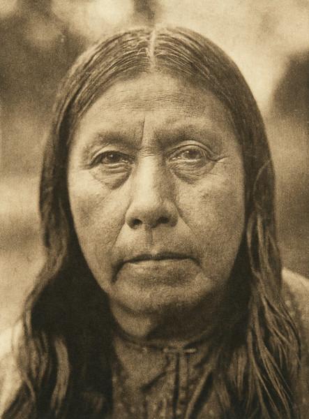A Wichita matron (The North American Indian, v. XIX. Norwood, MA, The Plimpton Press,  1930)