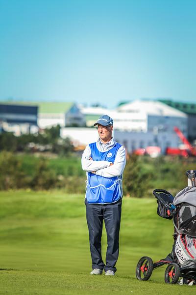 Halldór Ingólfsson.  Íslandsmót í golfi 2019 - Grafarholt 2. keppnisdagur Mynd: seth@golf.is