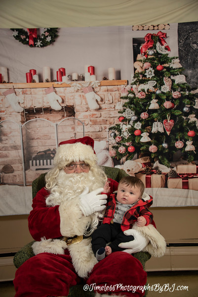 2018 VFW 253 Santa at the Post
