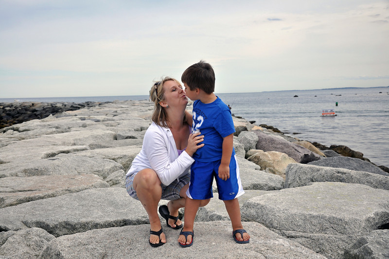 Scituate - Kim and Jonah on jetty.jpg