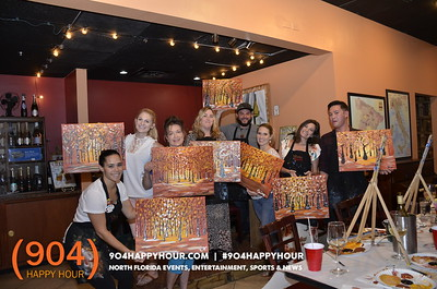 Painting with a Twist @TheWineBar - 11.7.17