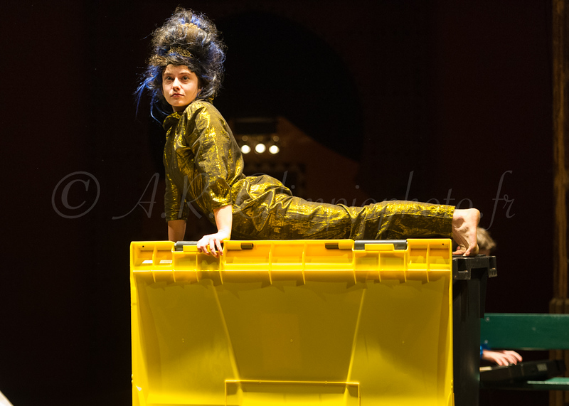 Apéro Cirque, janvier 2018, Académie Fratellini