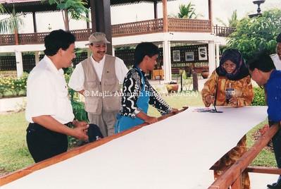 1994 - LAWATAN PENGERUSI MARA KE PULAU PINANG