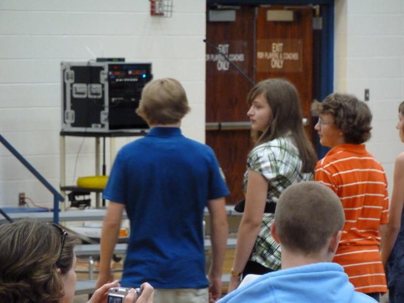 2010 Keegan 8th grade graduation