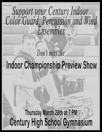 19.03.28 Indoor Preview Show Flyers