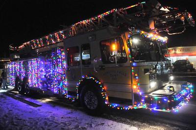 Honeoye Falls Fire Department Christmas Parade