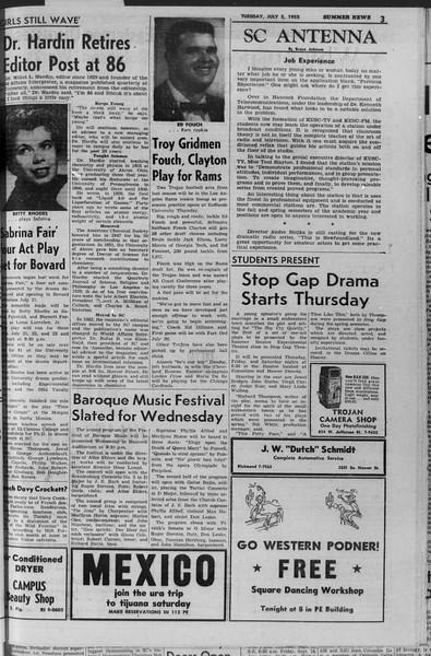 Summer News, Vol. 10, No. 5, July 05, 1955