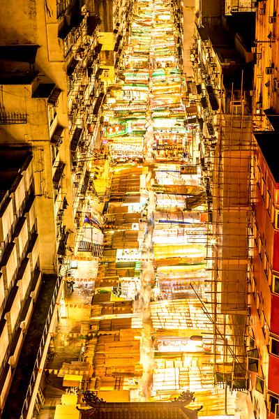 Temple Night Market