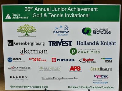 Junior Achievement Golf & Tennis Invitational  2018