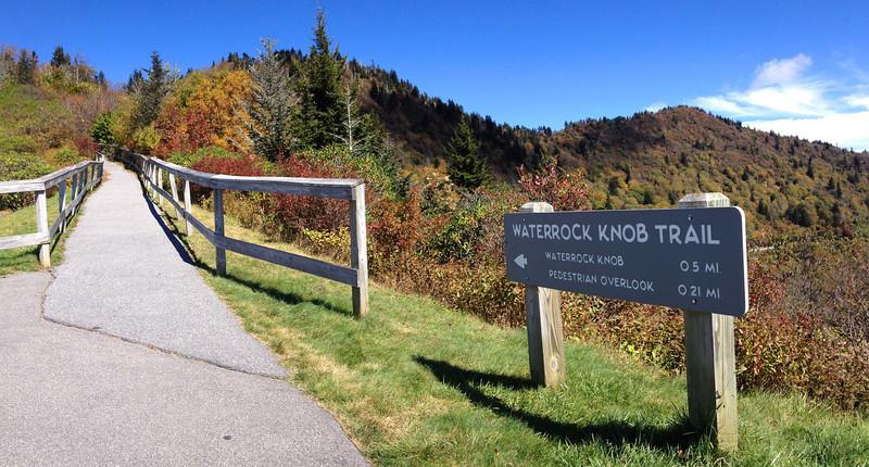 Waterrock Knob Trailhead
