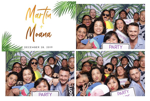 Martin & Moana (Modern Open Air Photo Booth)
