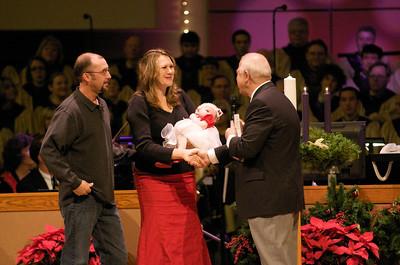 2008 Christmas Eve W/ Abigail