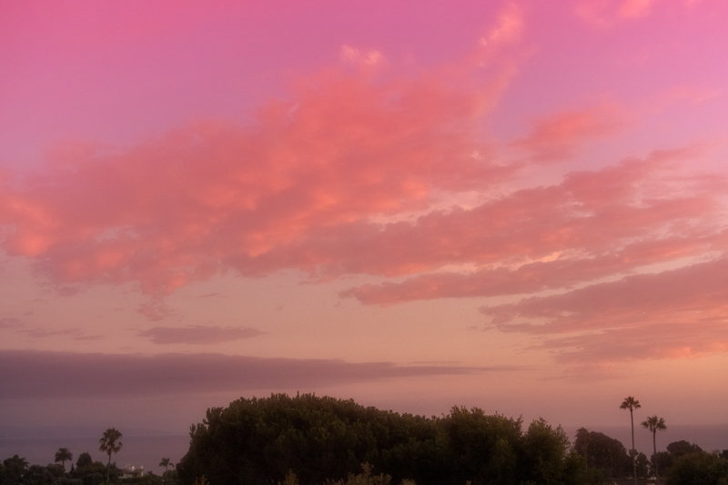 September 26 - Dreamy warm sunset on an early Southern California fall evening.jpg