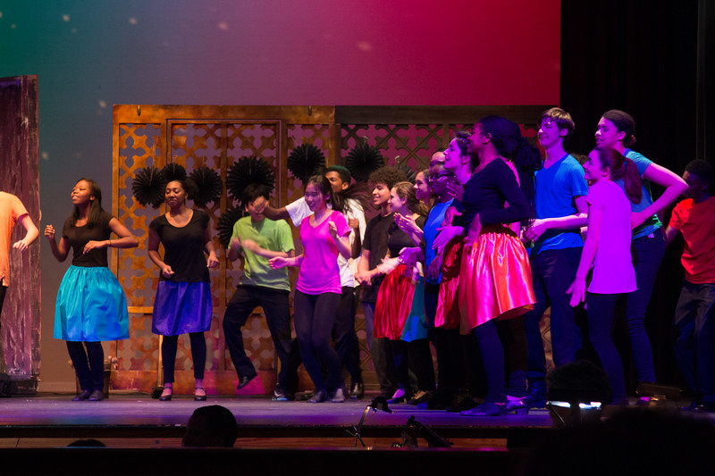 """""""Everybody Rejoice/ Brand New Day"""" -- """"The Wiz"""", Montgomery Blair High School spring musical, March 26, 2017"""