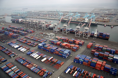 Los Angeles - Long Beach Ports and Shipping