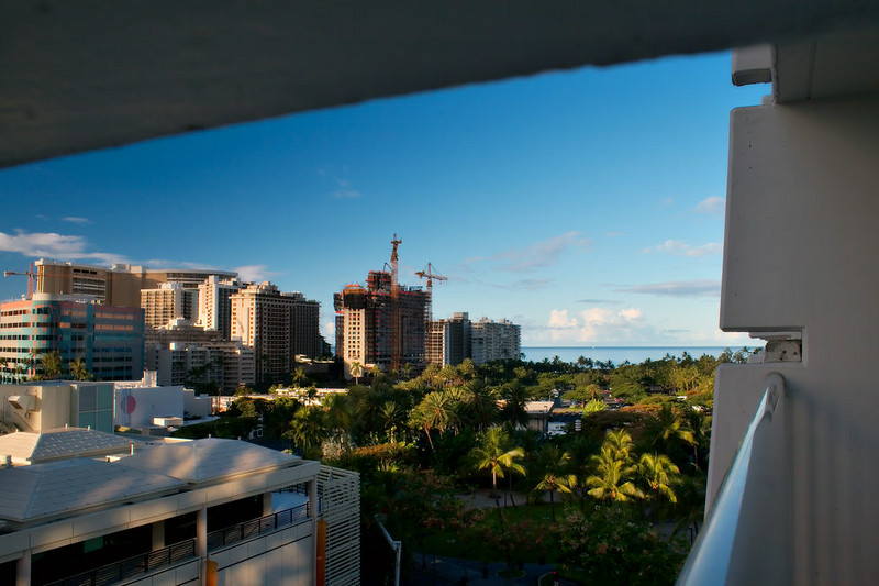 Early morning in Waikiki