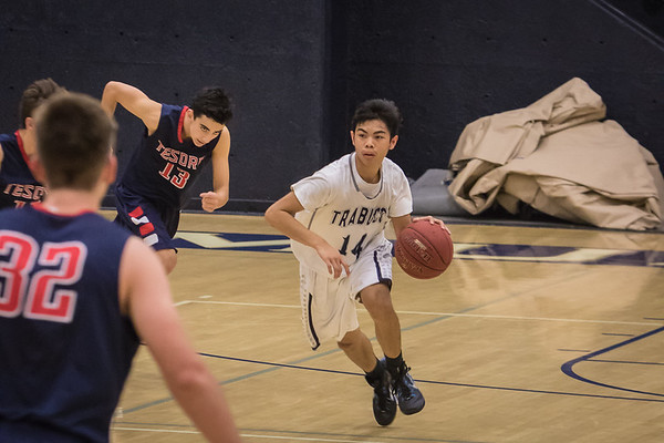 JV basketball vs Tesoro