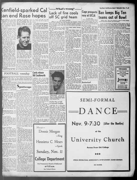 Daily Trojan, Vol. 37, No. 5, November 07, 1945