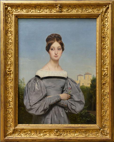 Horace Vernet, Portrait de Louise Vernet, fille de l'artiste, 1828-1833