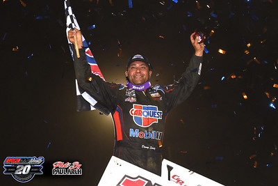 Plymouth Speedway - World Of Outlaws - 9/23/20 - Paul Arch