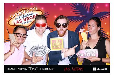 Microsoft French Party Tao Las Vegas