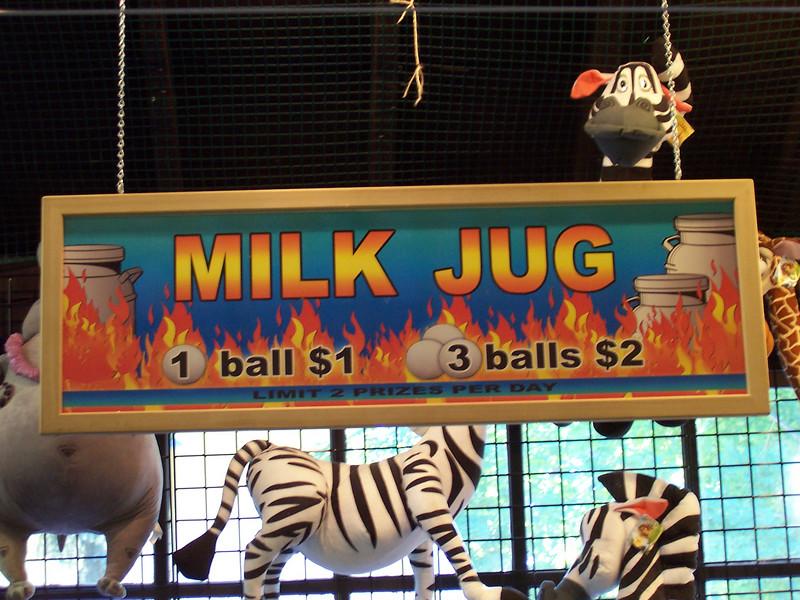 Milk Jug sign.