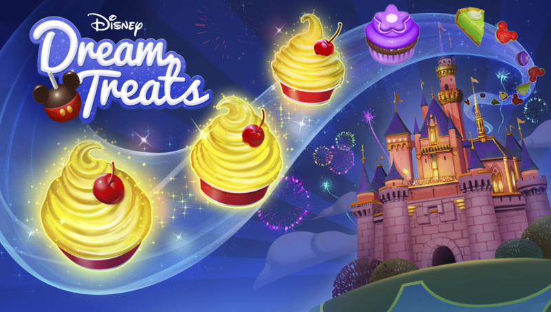 PLAY WITH YOUR FOOD! Check out new Disney DREAM TREATS mobile game!