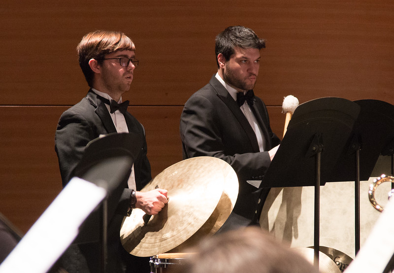 Corbin Cerny, Bobak Shafiei -- Symphony of the Potomac at the Cultural Arts Center, Silver Spring, MD, February 2018.
