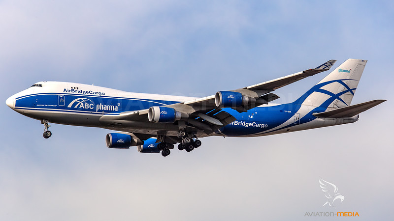 Air Bridge Cargo - ABC Boeing B747-400 (ABC Pharma titles) VP-BIM