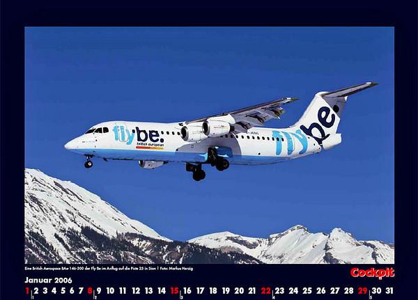 Cockpit Calendar – Jan 2006