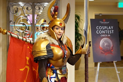 DOTA2 - The International 2016 Cosplay Competition - Prejudging - 2016