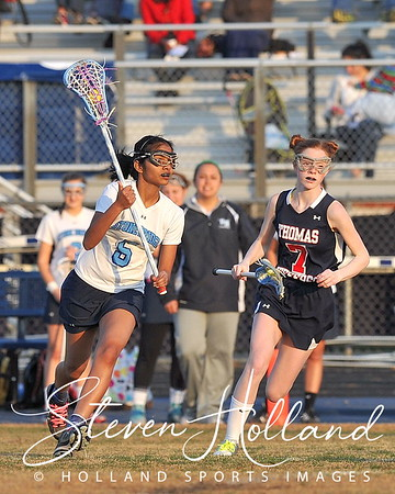 Lacrosse: Stone Bridge vs Thomas Jefferson Girls JV 4.5.2013 (by Steven Holland)