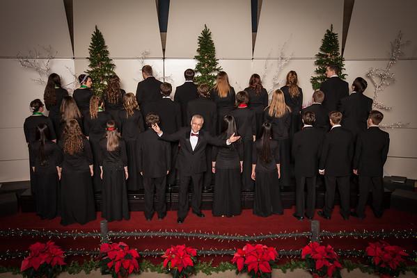 Harrison H.S. chamber choir Christmas 2013
