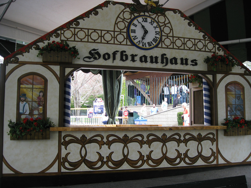 Midway Stage Hofbrauhaus beer stand.