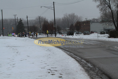 0.25 Mile Mark - 2013 Shelby Township Jingle Bell 5K
