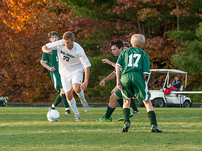 Hall-Dale vs Carrabec Boys Soccer