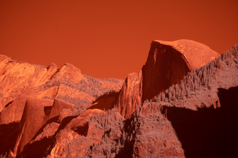 Infrared image before processing