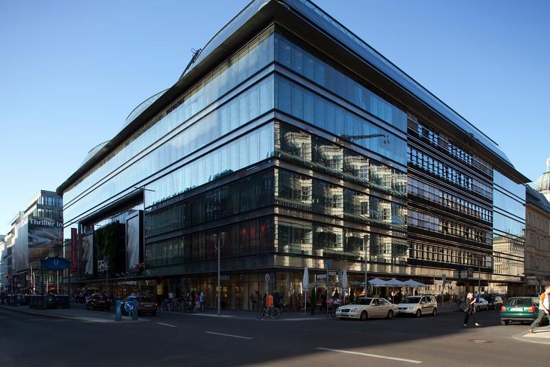 Galeries Lafayette building, corner of Friedrichstrasse and Jägerstrasse, Berlin, Germany