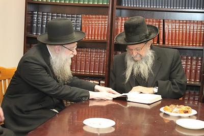 Rav Yaakov Hillel Visits Mesivta Chaim Shlomo