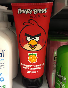 Angry Birds Cranberry Body Lotion