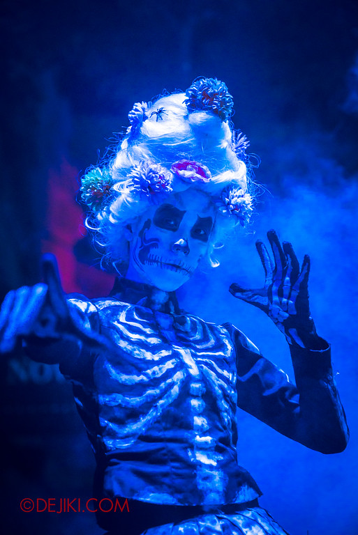 Halloween Horror Nights 6 Final Weekend - March of the Dead / Lady Skeleton V