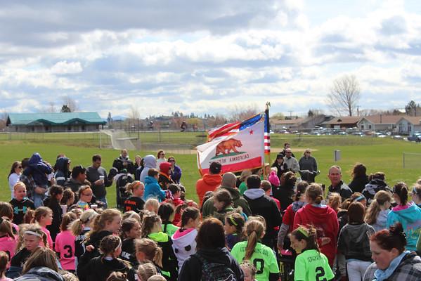 Lassen youth softball opening day