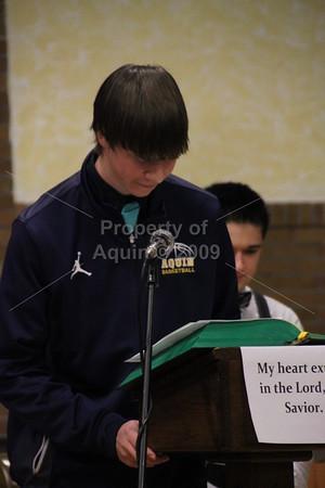 ring ceremony mass . 12.22.15