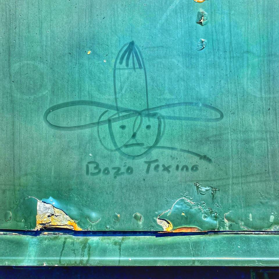 Boso Texino railroad graffiti Steamtown national historical site - scranton pennsylvania