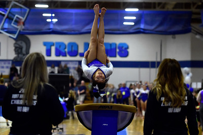 Photos: Broomfield Competes in CHSAA 5A State Gymnastics Championships