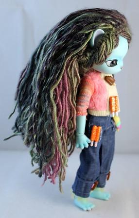 Minty's Dredlock Wig
