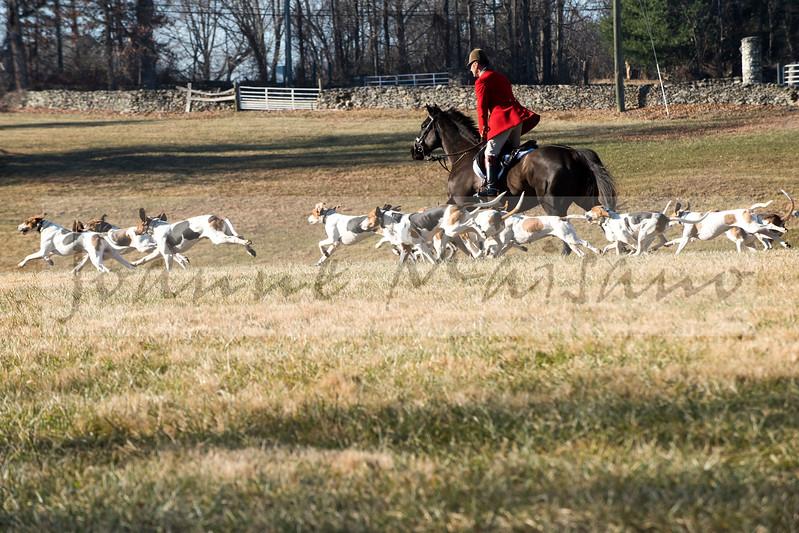 Middleburg Hunt at Glenwood Park 12-21-17