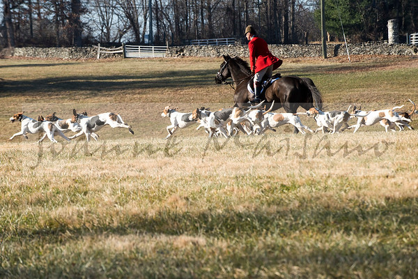 Middleburg Hunt at Glenwood Park 12-21-17