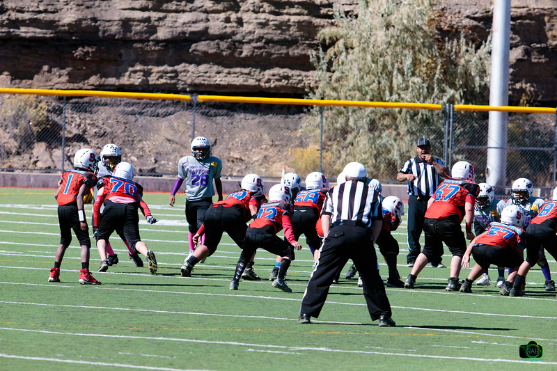 TDFL Raptors vs Sandia Matadors Football 10-26-2019