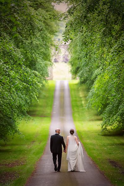 duns castle wedding photography